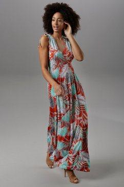 vivance maxi-jurk rood