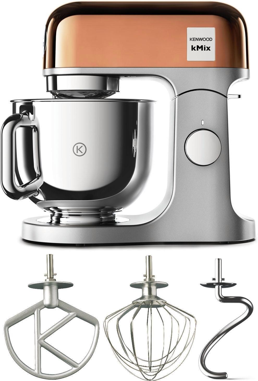 KENWOOD keukenmachine KMX760GD kMix Premium Edition Rozegoudkleur met 3-delige patisserie-set nu online kopen bij OTTO