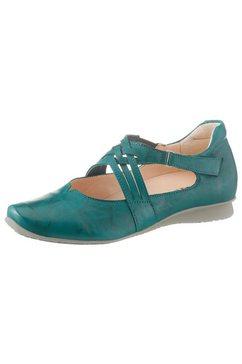 think! ballerina's met riempje »chilli« blauw