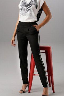 aniston selected geweven broek zwart