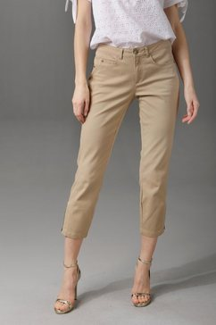 aniston casual 7-8-broek beige