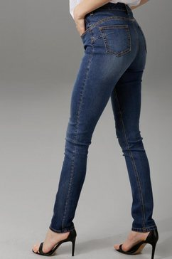 aniston casual slim fit jeans blauw