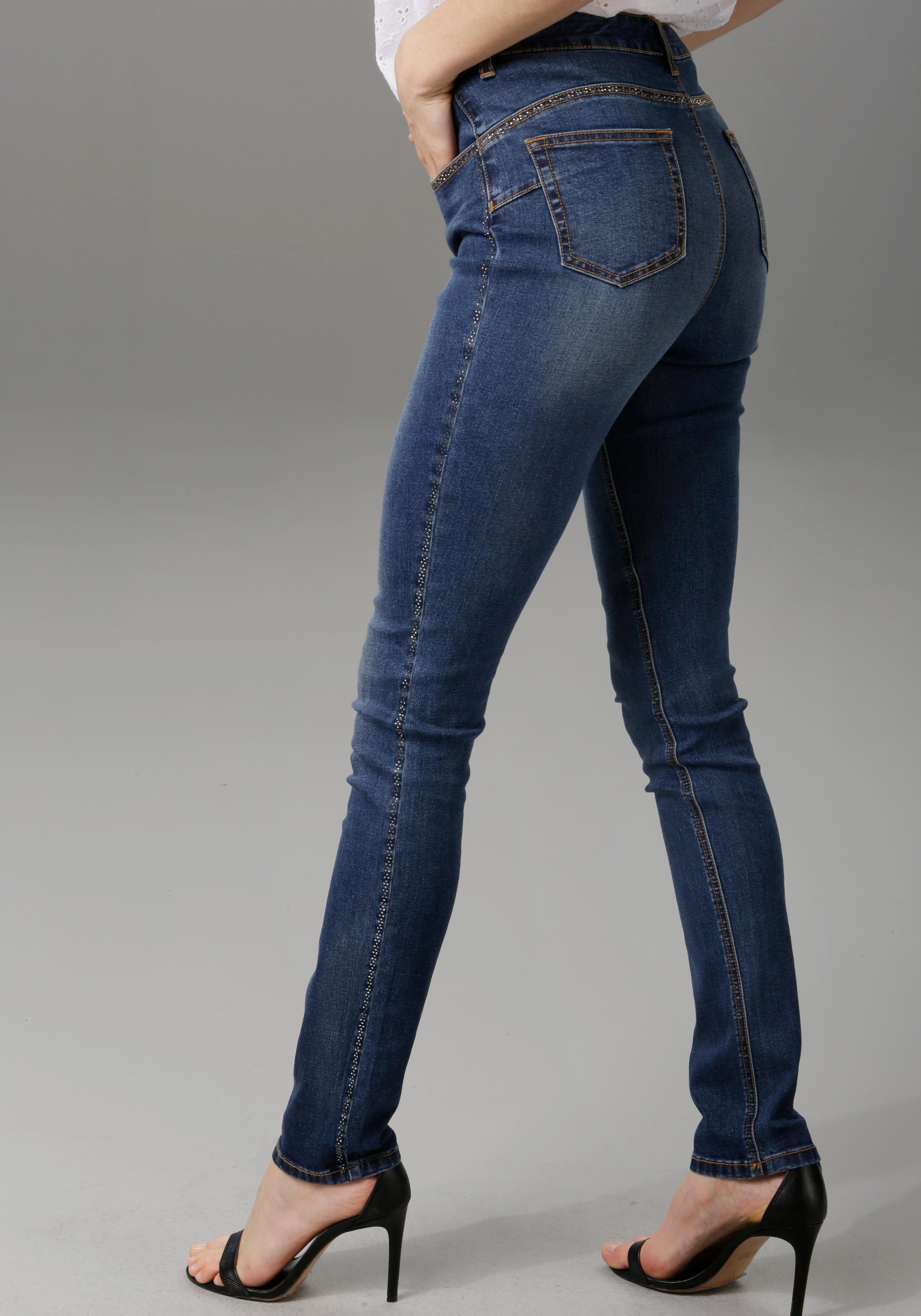 Op zoek naar een Aniston Casual slim fit jeans? Koop online bij OTTO