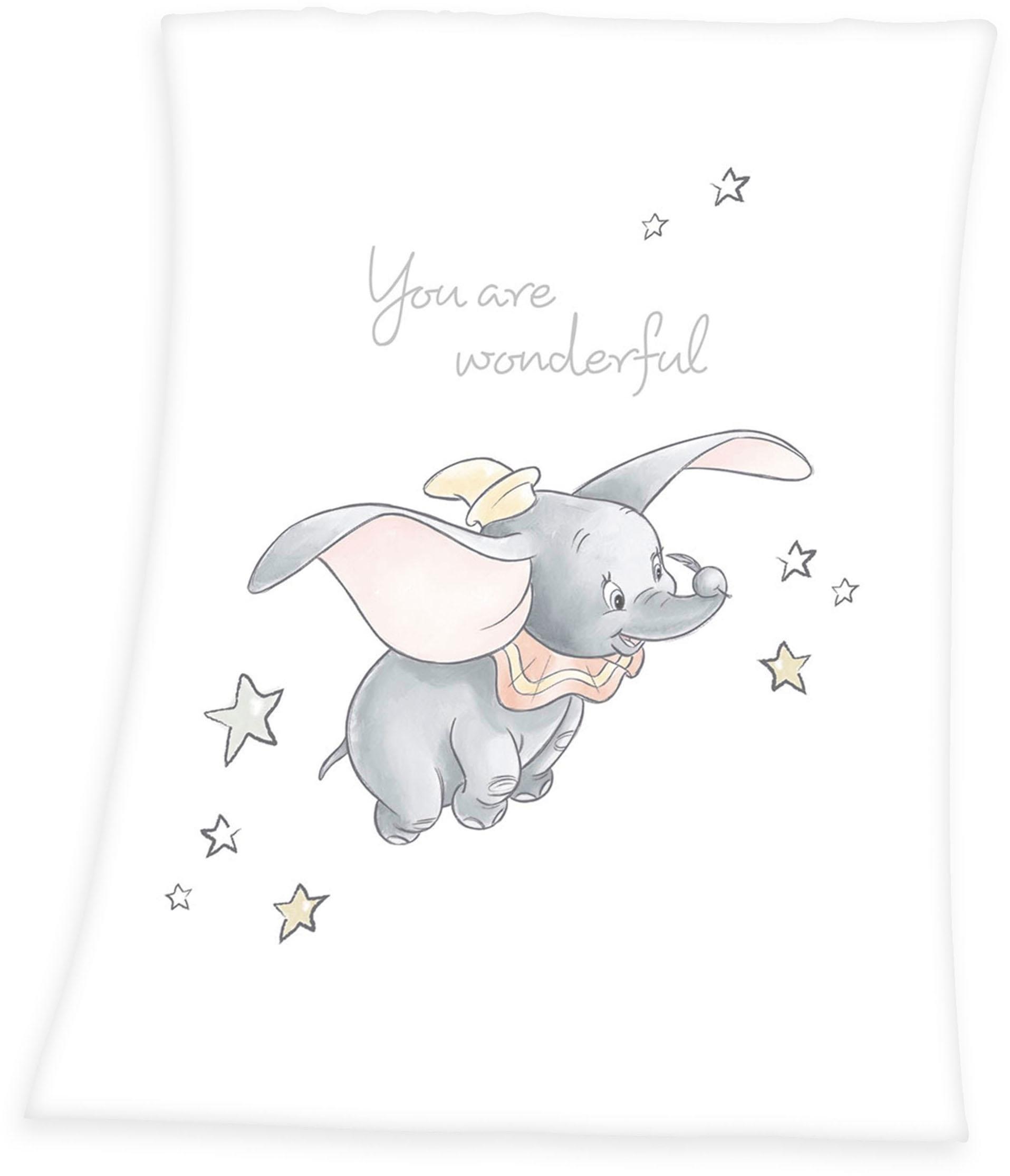 Walt Disney babydeken »Dumbo« - gratis ruilen op otto.nl