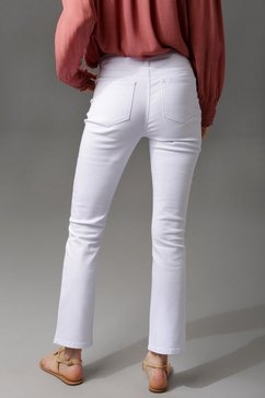 aniston casual bootcut jeans wit