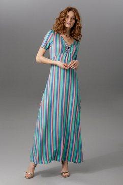 aniston maxi-jurk met brede bandjes groen