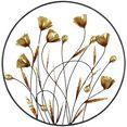 hofmann living and more sierobject voor aan de wand wanddecoratie van metaal goud