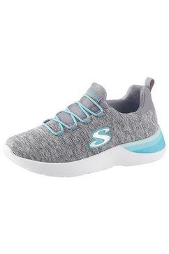 skechers kids slip-on sneakers »dynamight« grijs