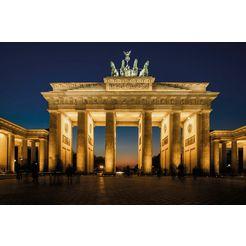 bmd fotobehang »brandenburg gate« multicolor