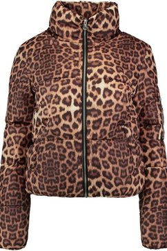 haily's gewatteerde jas »leone« bruin