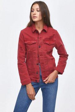 ltb jeansjack »alberta« rood