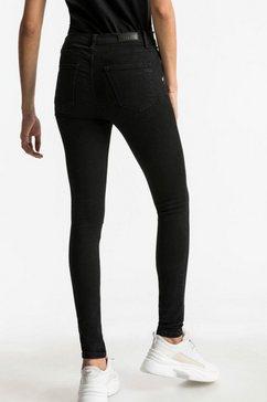 ltb skinny fit jeans »amy« zwart