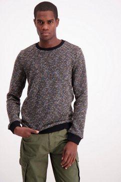 lindbergh trui met ronde hals zwart