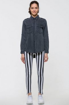 ltb overhemdblouse »simele x« grijs
