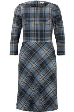 tom tailor geruite jurk grijs