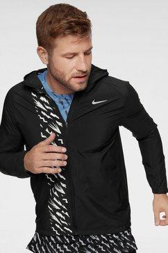 nike runningjack »men nik essential jaket wr po gx men's running« zwart