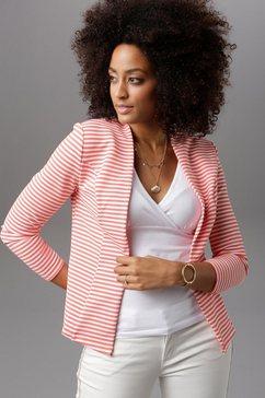 aniston selected korte blazer oranje