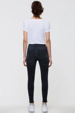 ltb skinny jeans »lonia« grijs