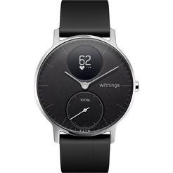 withings activité steel hr (36 mm) fitness-horloge zwart