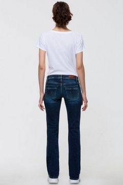 ltb bootcut jeans »valerie« blauw