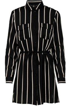 only jurk met overhemdkraag »onltamari« zwart
