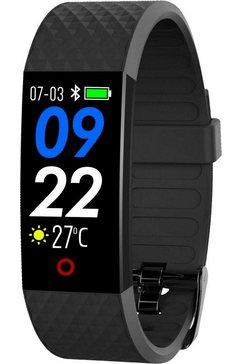 swisstone fitness-horloge sw 320 hr zwart