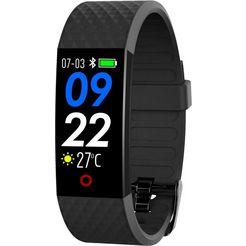 swisstone sw 320 hr fitness-horloge zwart