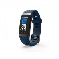 swisstone »sw 380 hr« fitness-horloge blauw