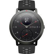 withings steel hr sport fitness-horloge zwart