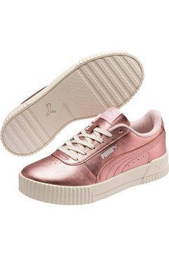 puma sneakers »carina metallic« goud