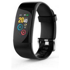 swisstone »sw 650 pro« fitness-horloge zwart