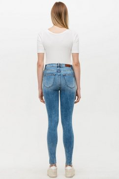 ltb skinny fit jeans »amy« blauw