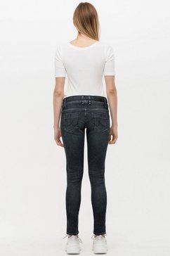 ltb skinny fit jeans »julita x« grijs