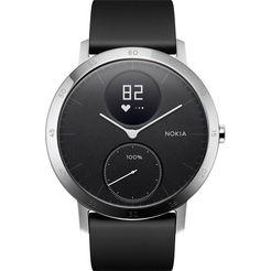 withings activité steel hr (40 mm) fitness-horloge zwart