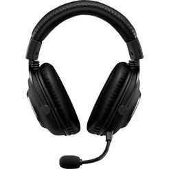 logitech games »pro gaming headset« gaming-headset zwart