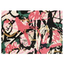 elle decor mat »artist«, elle decor, rechthoekig, hoogte 7 mm, machinaal getuft multicolor