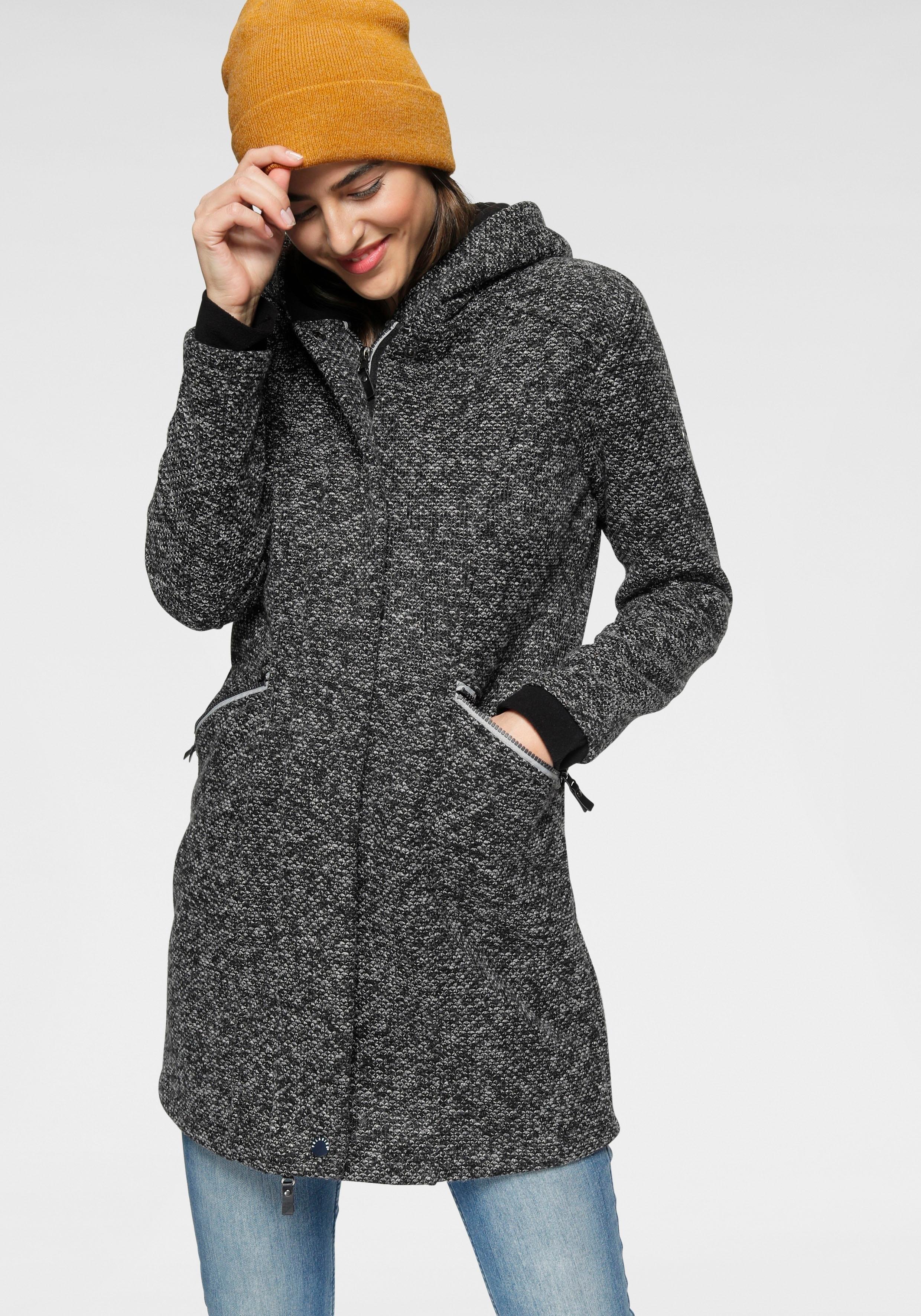 Polarino gebreide jas met grote heerlijk zachte capuchon bij OTTO online kopen