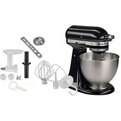kitchenaid keukenmachine classic 5k45ss eob zwart