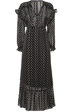 scotch  soda maxi-jurk zwart