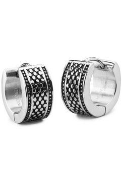steelwear oorringen »capetown, sw-370« zwart