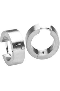 steelwear oorringen rome, sw-296 zilver