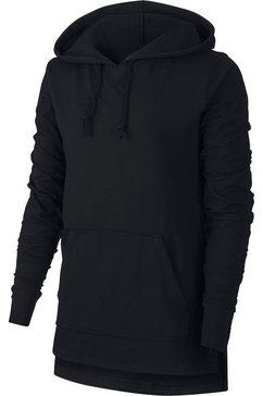 nike hoodie »nike women's yoga training hoodie« zwart