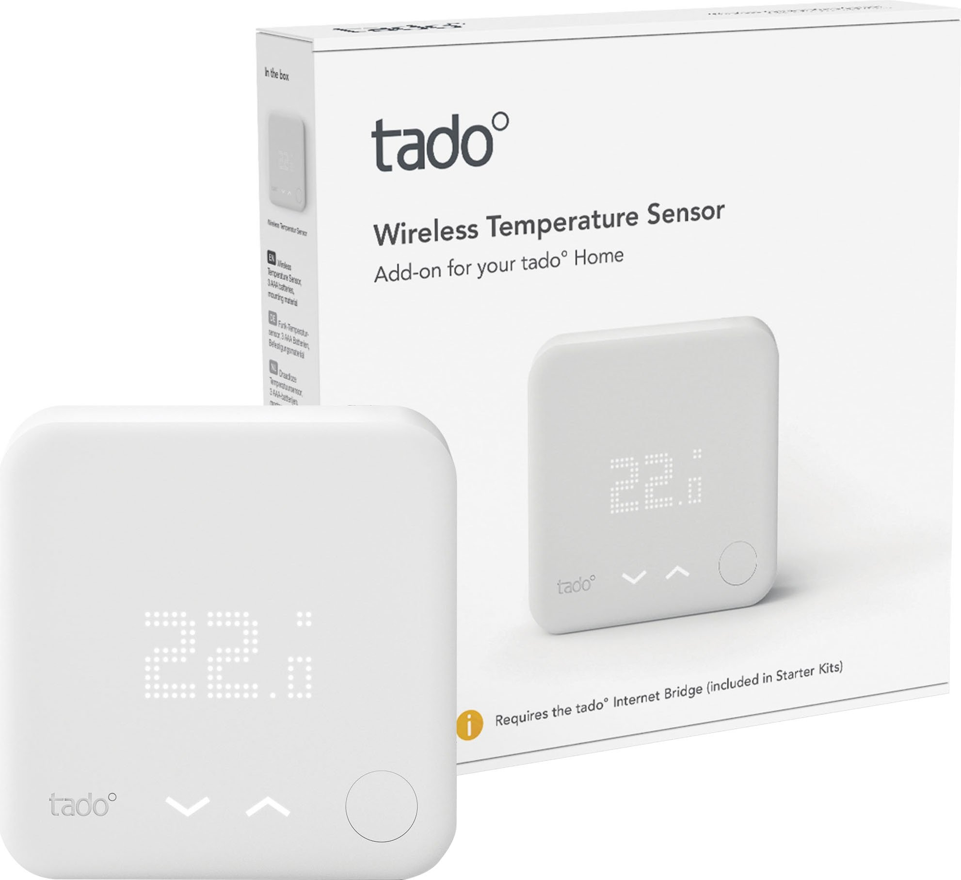 Tado smart-home-station Radiografische temperatuursensor veilig op otto.nl kopen