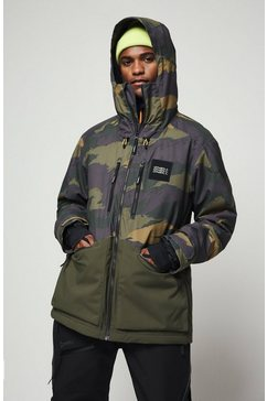 o'neill ski-jack »textured« groen