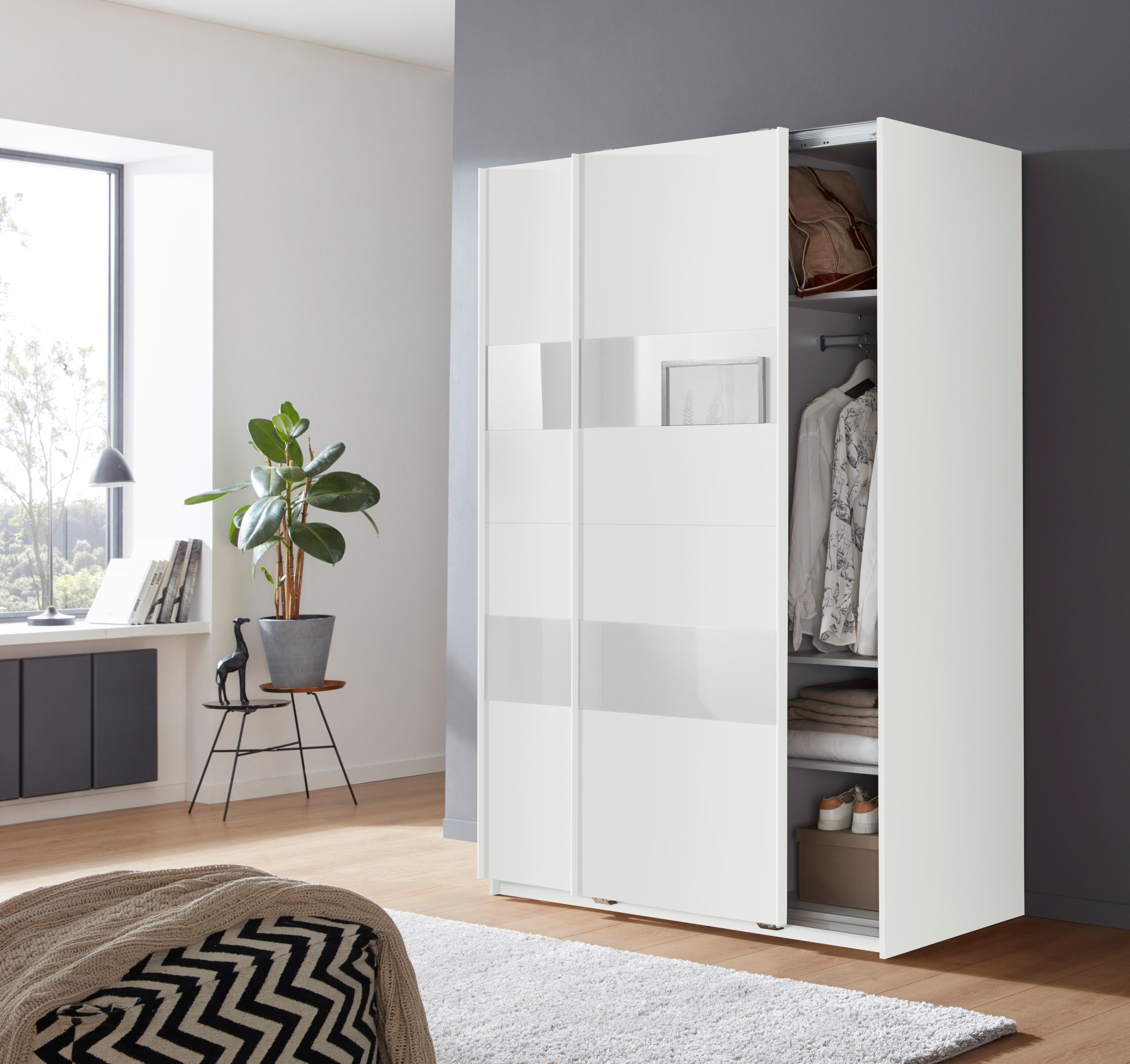 Wimex Zweefdeurkast Altona met glaselementen en extra planken in de webshop van OTTO kopen