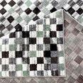 carpet city vloerkleed moda 1141 korte pool, woonkamer groen