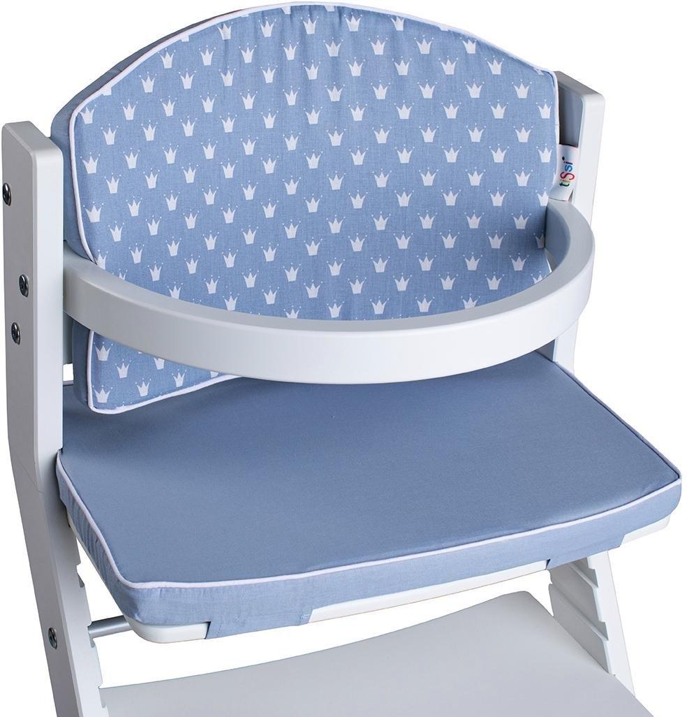 tiSsi kinder-zitkussen Kronen blauw voor tissi® kinderstoel; made in europe bij OTTO online kopen