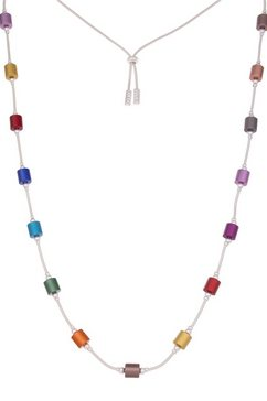 leslii lange ketting »rainbow reelness, 220115040« multicolor