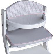 tissi kinder-zitkussen diamant pastel voor tissi kinderstoel; made in europe grijs