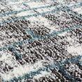 carpet city vloerkleed »moda 1139«, carpet city, rechthoekig, hoogte 11 mm, machinaal geweven blauw